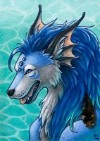ACEO for Vantid by Dragarta