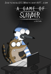 A Game of Slender (Offical Comic Title Page) by SketchedJDII