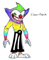 46. Clown-Freak by JakRabbit96
