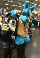 A wild Lucario appeared! by SpunkyRacoon