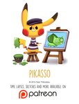 Daily Paint 1454. Pikasso by Cryptid-Creations