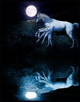 Sleipnir in the Stars by CoolCurry