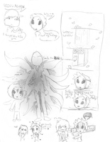 The page of Masky 2 by Fur3ver