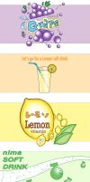 Soft Drink Series by squishypuff