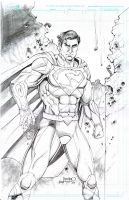 Superman New 52 costume by joraz007