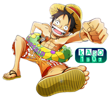 Luffy Render by Kaso1907