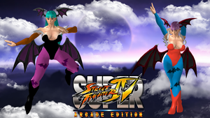 Chun Li Morrigan Lilith pack by DragonLord720