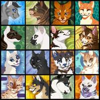 Lineless Icon Batch by TabbyTwist