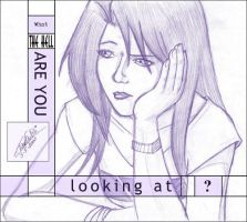 The hell are YOU lookin at by tamtu