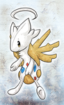 C: Togetic+Shedinja Fusion by Skeletpengu