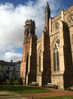 Hereford Cathedral by Sekkaiki