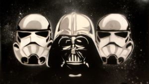 Dark Side Stencil (Desktop HD1080) by WladART