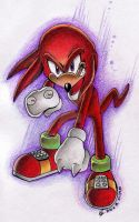 Knuckles - Show me ya moves by Olive-Owl