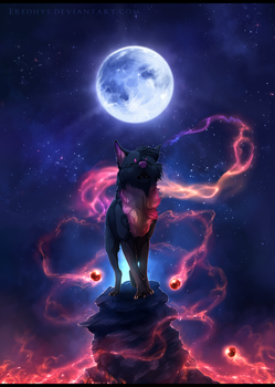 Song of the Blue Moon - Commission. by Eredhys