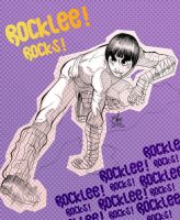 rock lee rocks by toonfed