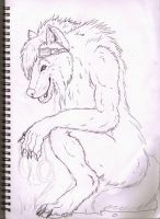 Free inked for Leafpelt122 WIP by Crimson-Asylum