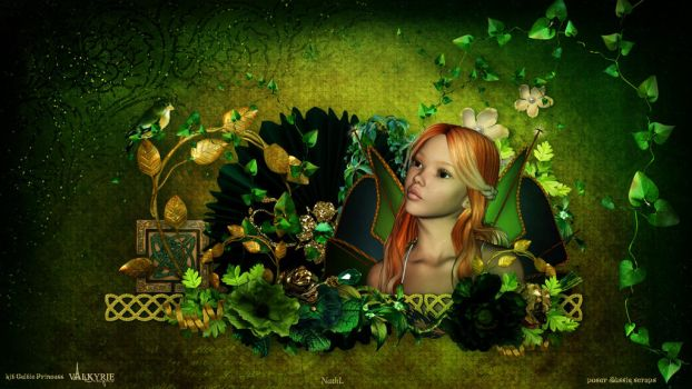 Celtic Princess wallpaper by NathL-fr