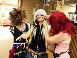 Smile for the Camera Riku by AaronSpades
