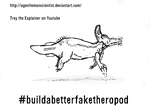 My Build a Better Fake Theropod by aGentlemanScientist