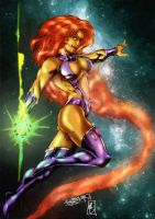 Starfire (colors) by FantasticMystery