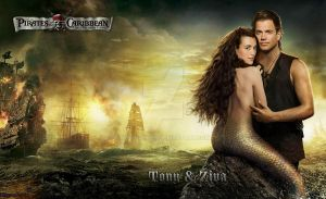 Tiva Movie night, Pirates of the Carribean by Wennuhpen