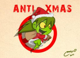 Im a grinch by melivillosa