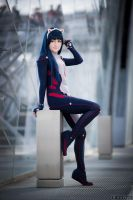 Waving Cat - Tsugumi Guilty Crown by itsL0KI