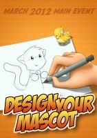 CLAC Poster : Design Your Mascot by n3kozuki