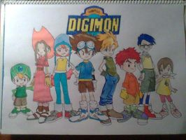 Digimon by Kirval159