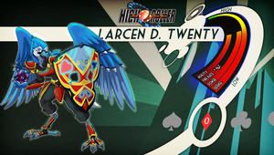 High Roller F.C.: Larcen D. Twenty Stats and Bio by Alucard009