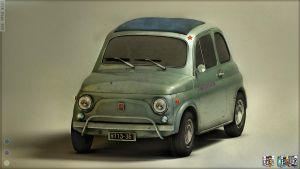 1958 Fiat 500 by Omessler