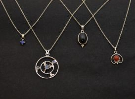 Various pendants by timjo