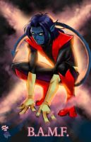 Nightcrawler - 100 percent certified.... by Radiant-Grey