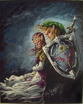 A Link To The Past painting by cliford417