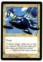 Armored Pegasus Alter Art (Magic Bomber Christina) by Abystoma