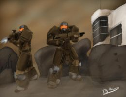Iridium: COTE Infantry 1 by Lazarus-Firenze