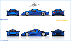 Nissan R390 GT1 Road Car by C4RS200