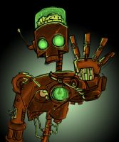 Old Robot by Pabloic