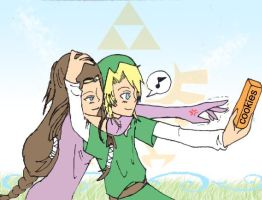 zelink - give me a cookie by soulsister911