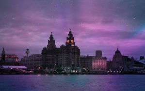 Liverpool Waterfront. by paulcaddy