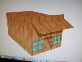 Google SketchUp: Old West General Store by Raptorguy14
