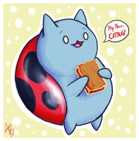 Catbug by Znapple