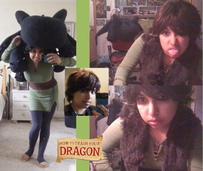 HTTYD - Hiccup wip +Toothless by thirteendaze
