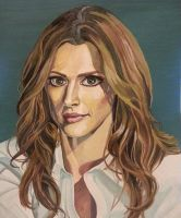 tried to draw Beckett by Liramel