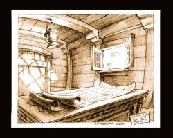 Ships Cabin by scratchmark