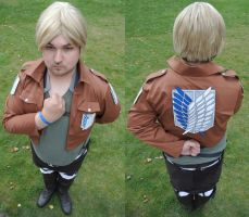 Mike Zakarius of the Survey Corps by Enriisse