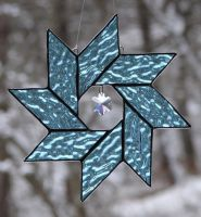 Ice Blue Star by TheGlassMenagerie