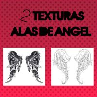 ALAS DE ANGEL - 2 TEXTURAS by lolacreations