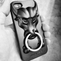 Musubo Angry Bull iPhone case by theCrow65