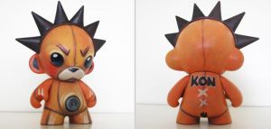 Bleach Kon Munny by nedashi